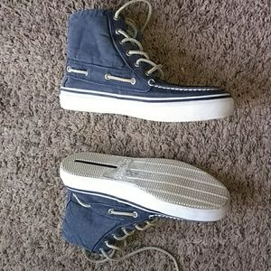 Sperry Top Sider Hi Tops